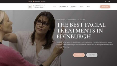 skin care clinic hero