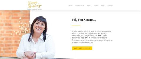 Susan Routlege Site Hero